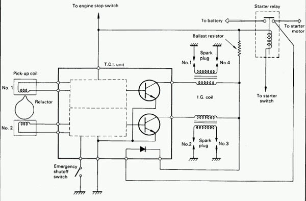 20020831 simpleignitiondiagram troubleshooting a bike that will crank but won't start  at bakdesigns.co