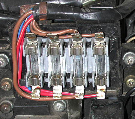 fuse block repair options xs11 forums